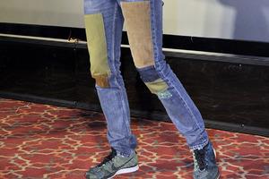 对不起,万能的牛仔裤也救不了懒癌啊