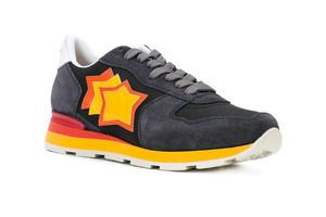一闪一闪的星星贴花运动鞋