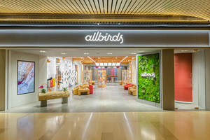 旧金山创新鞋履品牌Allbirds中国第二家门店于北京正式开幕