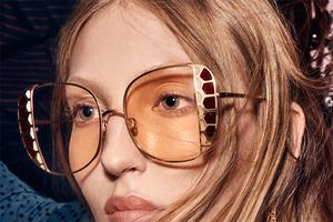 溥仪眼镜荣耀呈献Linda Farrow 2020 春夏50周年系列