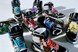 路易威登推出 由男装艺术总监Virgil Abloh设计的 新款限量版LV Trainer高帮运动鞋