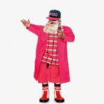 有钱任性怎么滴 圣诞老人也爱穿名牌