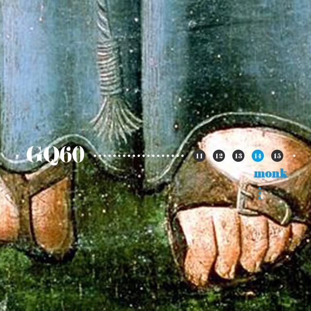 Monk皮鞋:始于禁欲系的捆绑PLAY