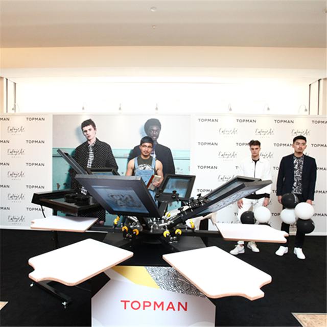 TOPMAN中国首家实体店于北京老佛爷百货闪耀开幕