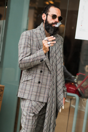 Andrew Barber2018春夏男装周