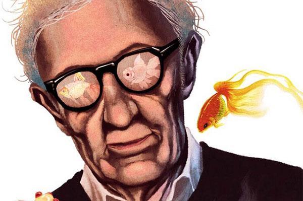 伍迪·艾伦和他的小金鱼