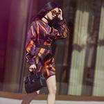 Versace&姚晨:演绎都市多面女郎