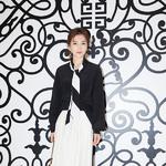 李晨、刘涛身着Givenchy出席纪梵希北京SKP商场限时店开业仪式