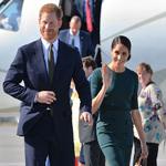 萨塞克斯公爵夫人梅根·马克尔携Strathberry出席海外访问活动  举手投足尽显皇室优雅之美