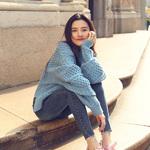 人气小花宋祖儿&时尚博主Anny Fan穿搭HOGAN 2018秋冬Interactive Cube奢潮运动鞋