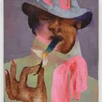 这位Dior男装设计师出身的画家在艺术界引起了巨大反响