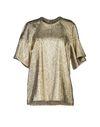 金色 STELLA MCCARTNEY 女士衬衫