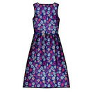 Oasis紫色印花连衣裙