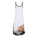 GANT甘特2014春夏女装系列白色印花连衣裙