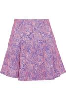 Swirl 提花针织迷你半身裙