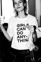 Zadig & Voltaire 2017秋冬主打T恤Girls can do anything