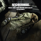 HOODS香港/北京9周年纪念 NEIGHBORHOOD限定系列12月30日隆重登场