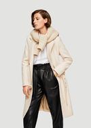 今年,乳白色大衣就买这些吧
