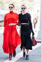 同色系穿搭 是秋冬最简单最时髦的趋势