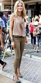 名模Heidi Klum鞋包单品配搭攻略