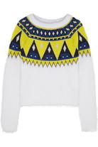 + AIMO RICHLY 安哥拉毛和羊毛混纺毛衣