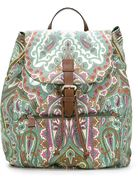 ETRO printed back pack