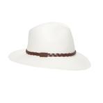 鳄鱼(LACOSTE)2013春夏白色植物纤维女士草帽