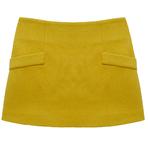 OASIS奥诗裳黄色短裙