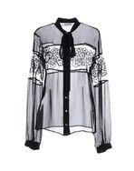 黑色 GALLIANO Shirt
