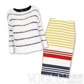 暖心针织毛衣的绝配