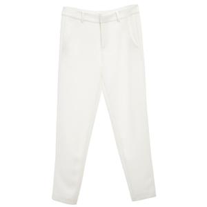 MO&Co.摩安珂白色长裤