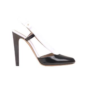 Chloé蔻依2013年秋季系列黑白拼接高跟鞋