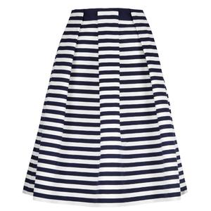 Carolina Herrera 条纹半身长裙