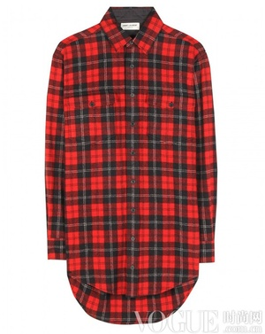 Grunge风格回归 本季必备格纹衬衫