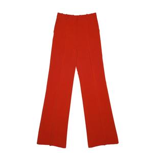 赛琳(Céline)2013春夏红色纵条纹阔腿裤