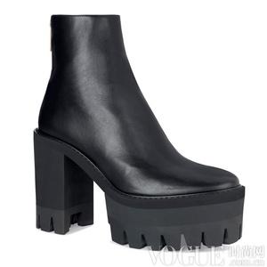够粗才够潮 15款秋冬必备粗跟鞋