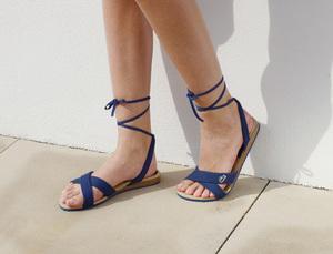 LACOSTE FOOTWEAR 2011夏日大热绑带罗马鞋