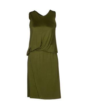 军绿色 GIVENCHY 及膝连衣裙