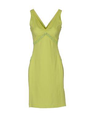 荧光绿 ROBERTO CAVALLI 短款连衣裙