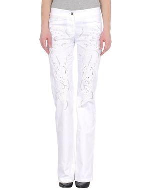 白色 ROBERTO CAVALLI 裤装