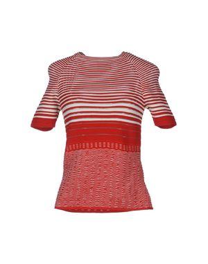 红色 MISSONI 短袖针织衫