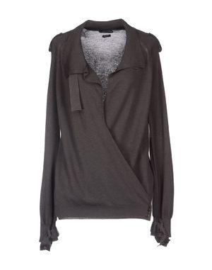 铅灰色 TOM FORD 羊绒针织衫