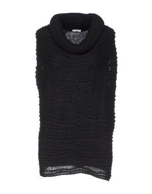 黑色 MALO 无袖针织衫