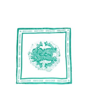 绿色 ROBERTO CAVALLI 方巾
