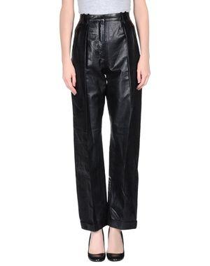 黑色 BALMAIN 裤装