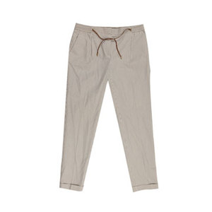 Massimo Dutti条纹七分裤