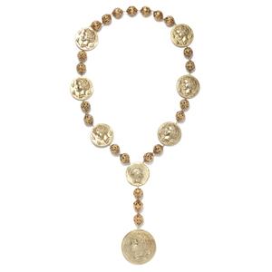 Dolce&Gabbana杜嘉班纳2014春夏系列徽章项链