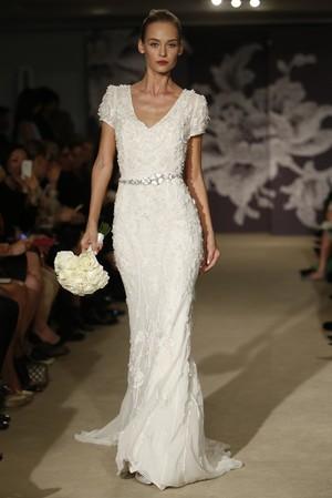 Carolina Herrera2015春夏婚纱