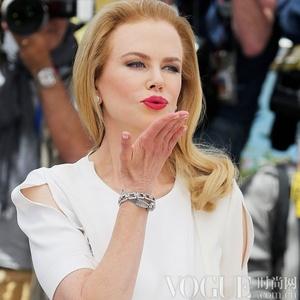 妮可·基德曼佩戴欧米茄古董钻石腕表闪耀亮相戛纳电影节