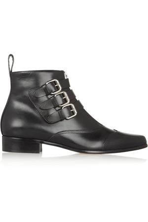 Early 皮革及踝靴